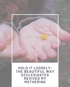 Pinterest Image: Hold it loosely